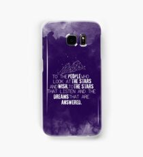 A Court of Mist & Fury - To the people who look at the stars... Samsung Galaxy Case/Skin