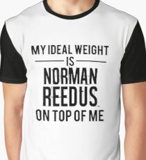 Ideal weight - Norman Reedus Graphic T-Shirt