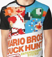 NES Super Mario Bros & Duck Hunt  Graphic T-Shirt