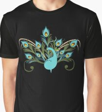 Just a Peacock - Tee Graphic T-Shirt