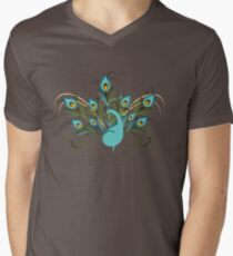 Just a Peacock - Tee Men's V-Neck T-Shirt