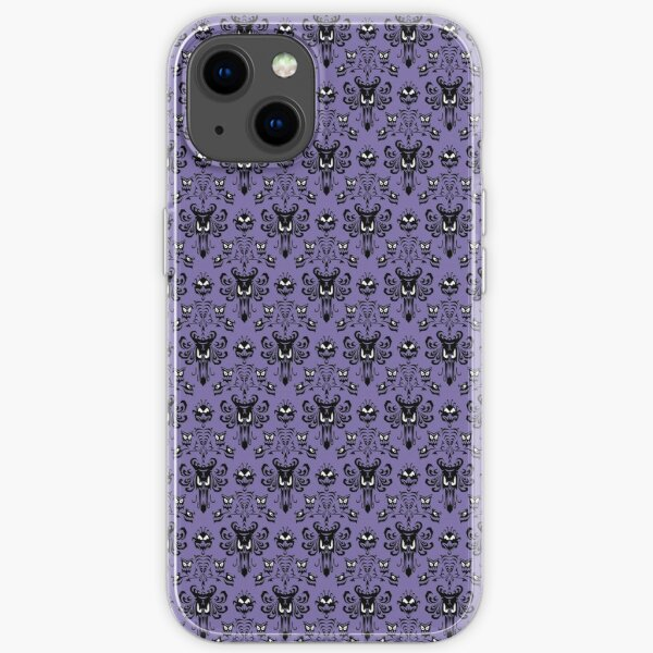 Haunted Mansion Wallpaper (Tile) iPhone Soft Case