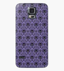 Haunted Mansion Wallpaper (Tile) Case/Skin for Samsung Galaxy