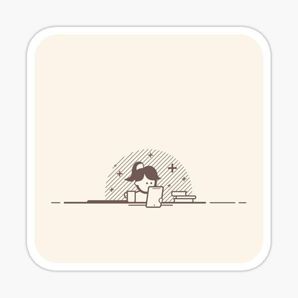 Geek Girl (Latte Edition) Sticker