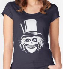 HATBOX GHOST Women's Fitted Scoop T-Shirt