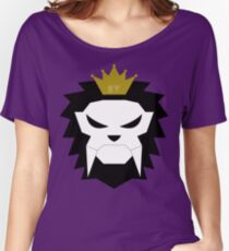 Sabre-toothed King Lion Skull - MulloIV Women's Relaxed Fit T-Shirt