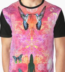 Pink Yoga  Graphic T-Shirt