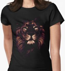 colored lion, indian lion T-Shirt