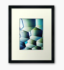 Fed Square Abstract Framed Print