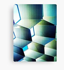 Fed Square Abstract Canvas Print