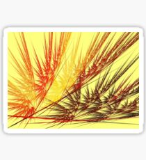 Red Wheat Sticker