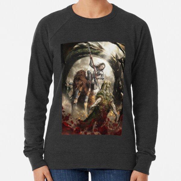 Saint Georgine and the Dragon Lightweight Sweatshirt