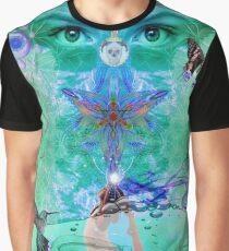 Green Yoga Graphic T-Shirt