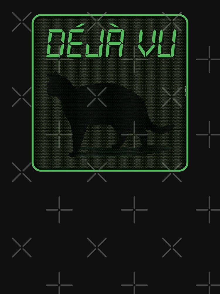 Déjà Vu Matrix Cat by thedrumstick