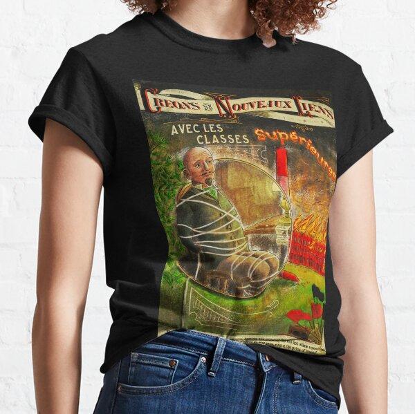 Créons de nouveaux liens - Anarchie & Communisme - Fr T-shirt classique