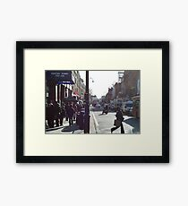 Kentish Town Tube Framed Print