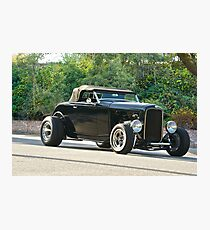 1932 Ford Hot Rod Roadster Photographic Print