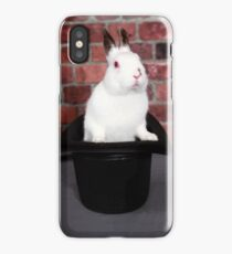 Rabbit out of a hat iPhone Case/Skin