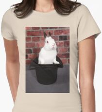 Rabbit out of a hat Womens Fitted T-Shirt
