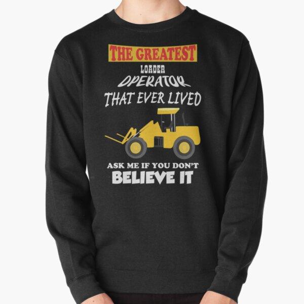 Front end loader with forks Pullover Sweatshirt