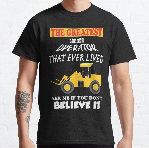 Front end loader with forks Classic T-Shirt