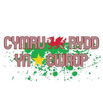 Cymru Rydd yn Ewrop by Glaslyn