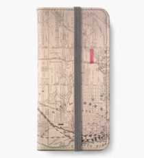 Toronto Map 1880 iPhone Wallet