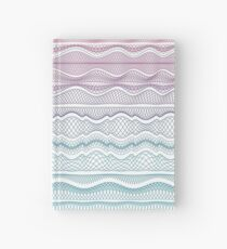 Guilloche Wave Hardcover Journal