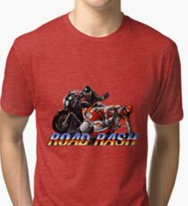 Road Rash - Graphic  Tri-blend T-Shirt