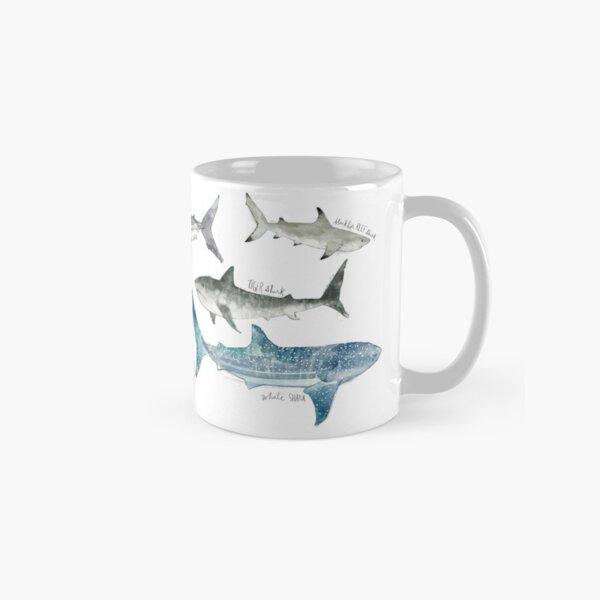 Sharks - Landscape Format Classic Mug