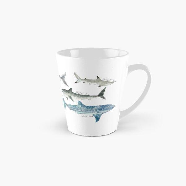 Sharks - Landscape Format Tall Mug