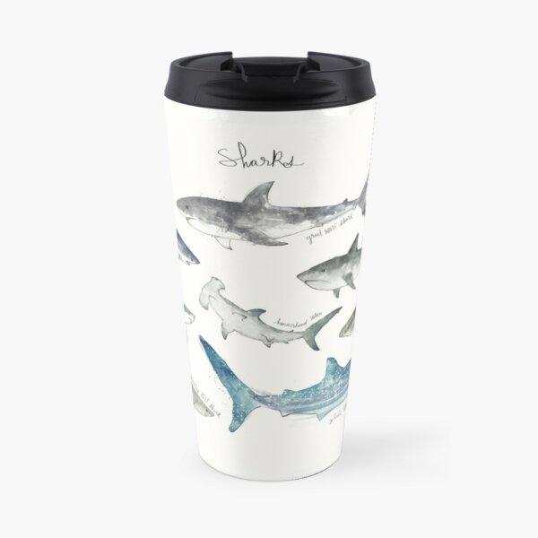 Sharks - Landscape Format Travel Mug
