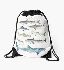 Sharks - Landscape Format Drawstring Bag
