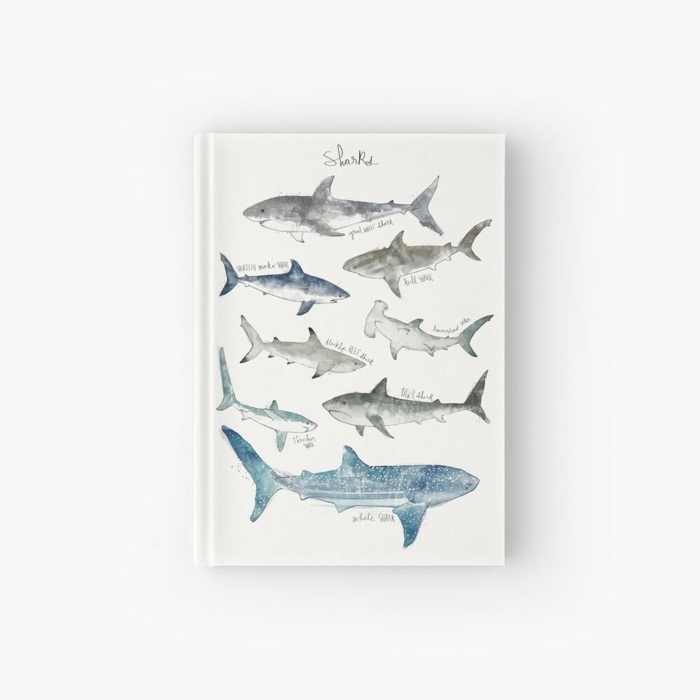 Sharks - Landscape Format Hardcover Journal