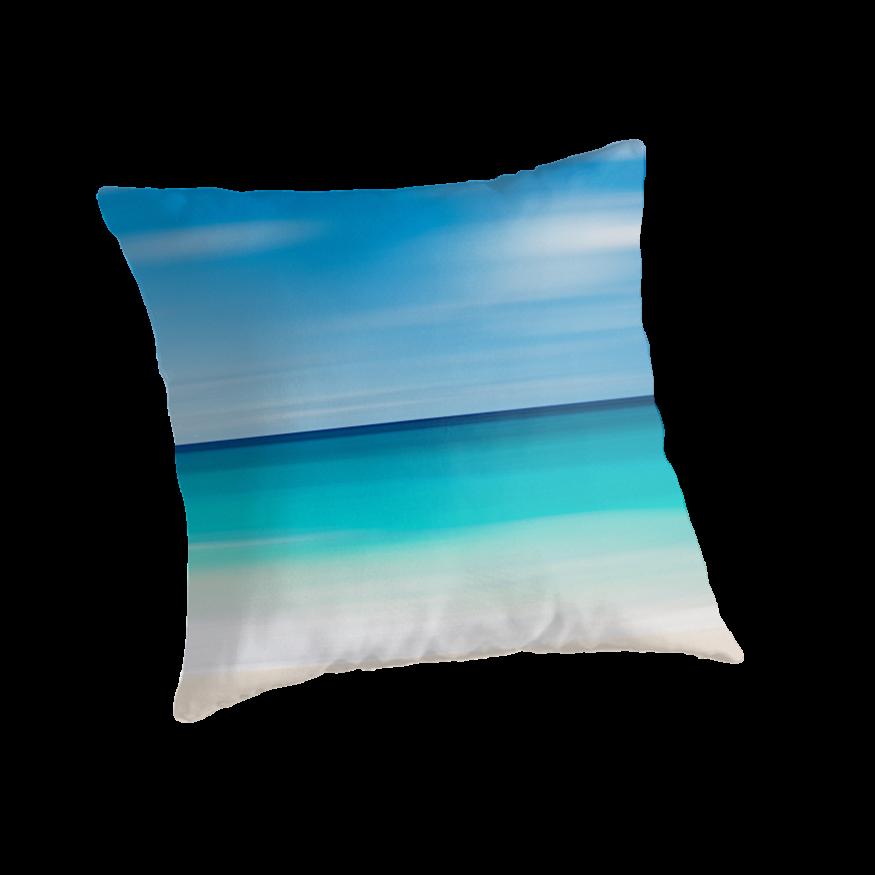 Coastal Color Throw Pillows :