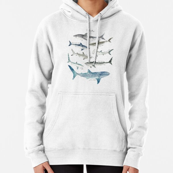 Sharks - Landscape Format Pullover Hoodie