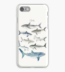 Sharks - Landscape Format iPhone Case/Skin