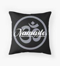 Namaste, MF Totebag Throw Pillow
