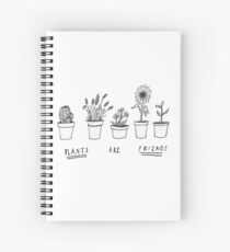 Plants Are Friends Spiral Notebook