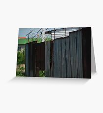 Mental Barriers Greeting Card