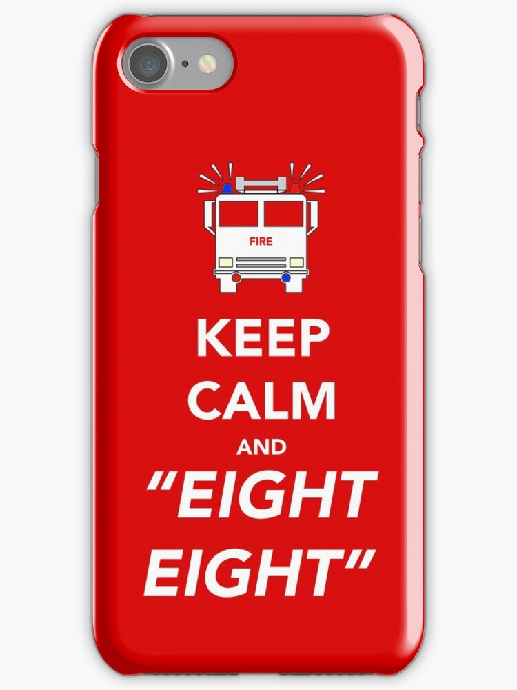 Keep calm and EIGHT EIGHT by Dan Newman