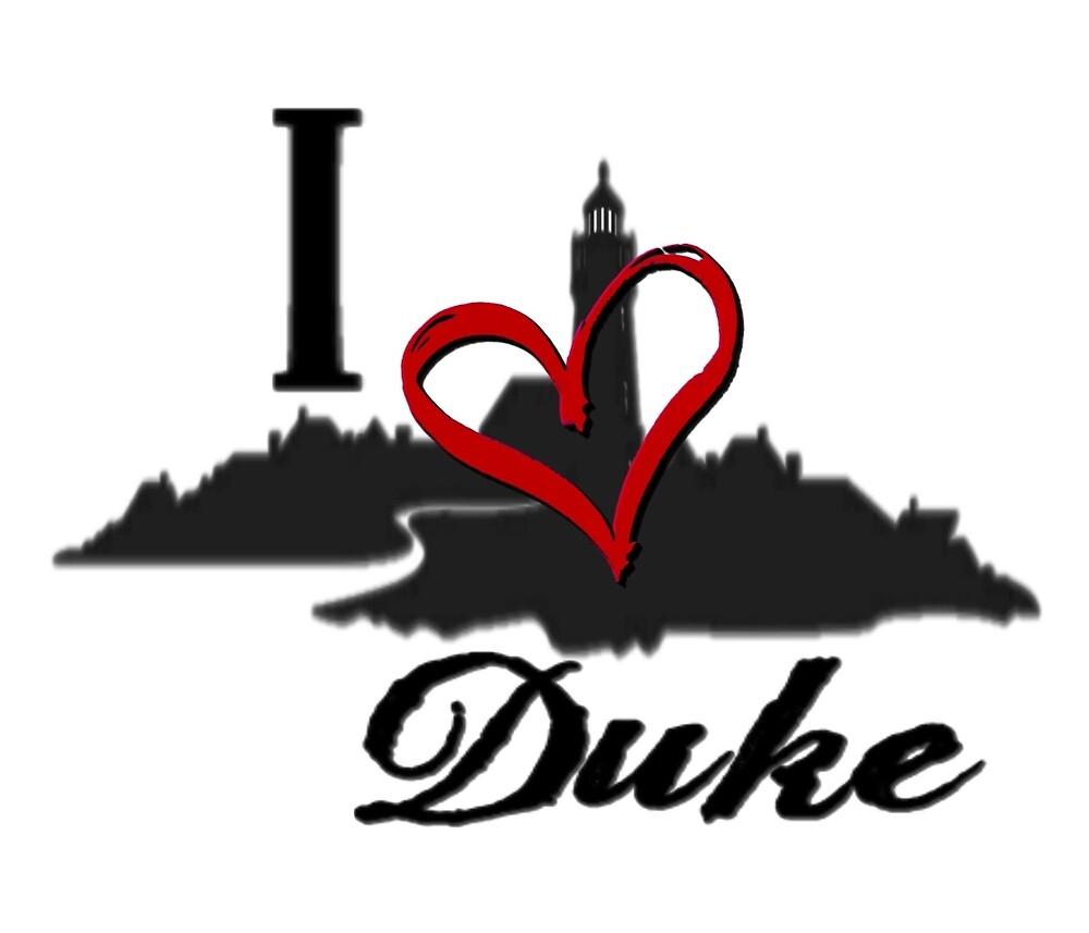 Haven I Love Duke Logo by HavenDesign
