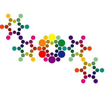 Color Wheel DNA by BurchfielDesign