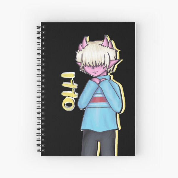 Character Series: Olli Spiral Notebook