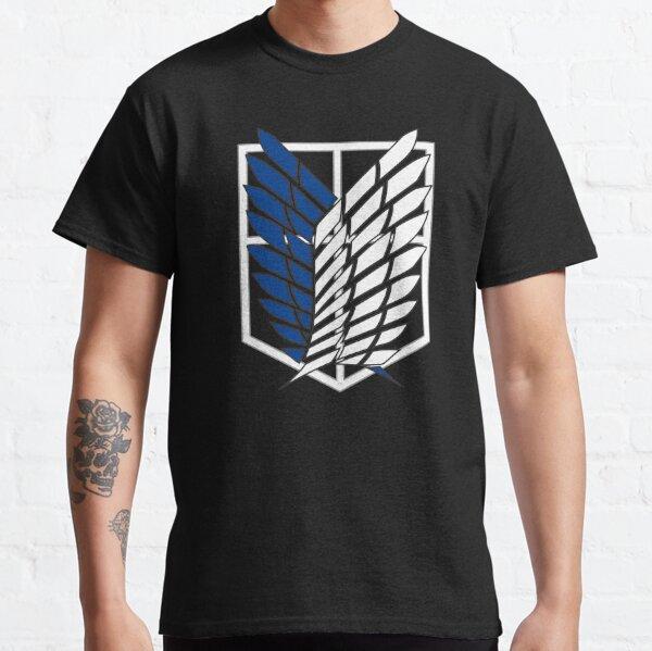 Ataque a los titanes - Shingeki no kyojin - 進 撃 の 巨人 Camiseta clásica