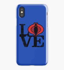 LOVE COBRA iPhone Case/Skin