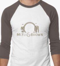 McFly & Brown Blacksmiths Men's Baseball ¾ T-Shirt