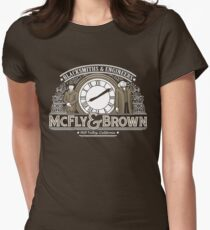 McFly & Brown Blacksmiths Women's Fitted T-Shirt