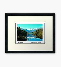 Lake Matheson Framed Print