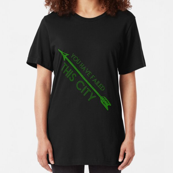 Queen Consolidated Green Arrow TV Show DC Comics Kids Youth T-Shirts